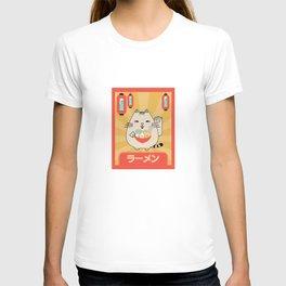 Lucky Cat Ramen T-shirt