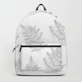 Farn Pattern Backpack