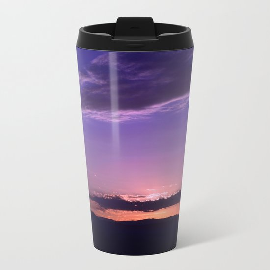 Southwest Sunrise - IV Metal Travel Mug
