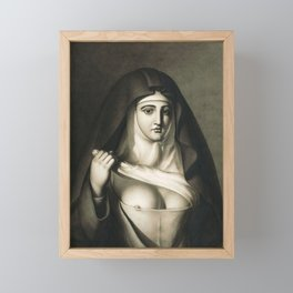 The Awful Disclosures of Maria Monk Framed Mini Art Print
