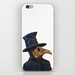Noble Plague Doctor iPhone Skin
