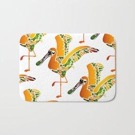 Gold Pelican Bird Bath Mat