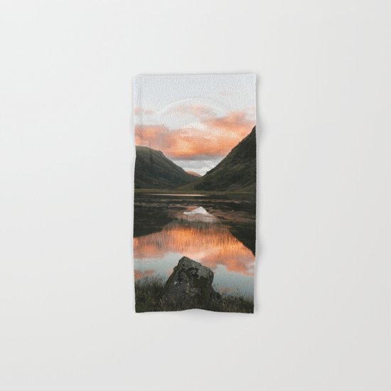Time Is Precious - Landscape Photography Hand & Bath Towel