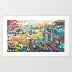 Majik 01 Art Print
