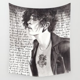 Matty Healy Wall Tapestry
