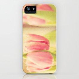 Vintage Tulips iPhone Case