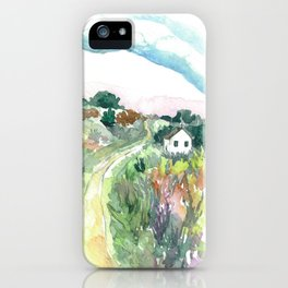 The Journey Home iPhone Case