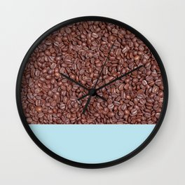 Roasted Coffee Beans (Photography) Wall Clock