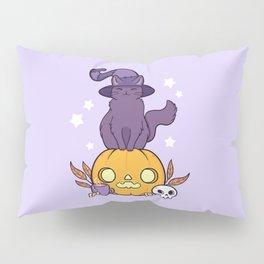 Pumpkin Cat Pillow Sham