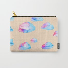 Watercolor Clouds at Sunset Carry-All Pouch
