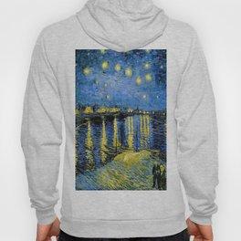 Vincent van Gogh Starry Night over the Rhone Hoody