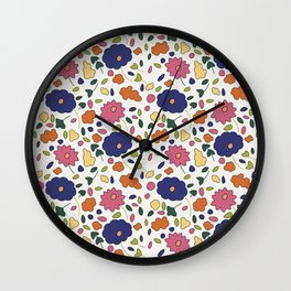 Large Scale Boutique Bouquet Wall Clock