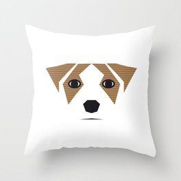 this is my dog Throw Pillow