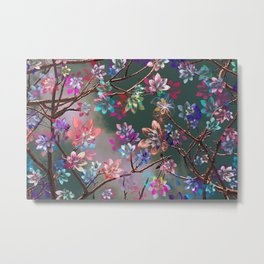 Floral abstract 76 Metal Print