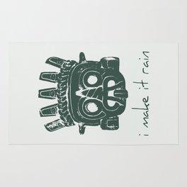 Tlaloc, Supreme God Of The Rains Rug