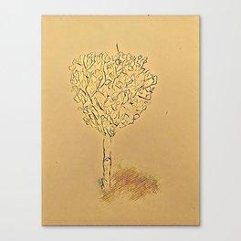 Dreaming Tree Canvas Print