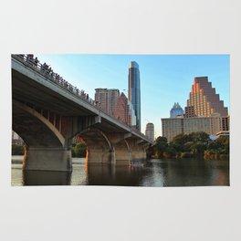 Congress Bridge Bat Viewing Rug
