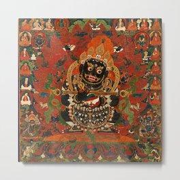 Vajrabhairava Buddhist God of Death 5 Metal Print