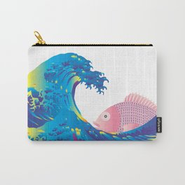 Hokusai Rainbow & Jpanese Snapper  Carry-All Pouch
