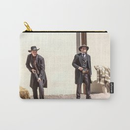 Old West Gun Fight #2 Carry-All Pouch