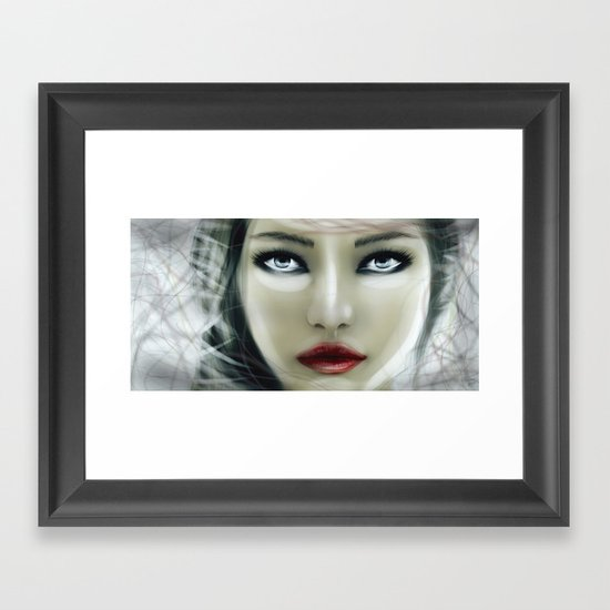 Frozen Soul Framed Art Print