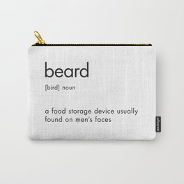Beard Definition Carry-All Pouch