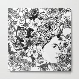 "PHOENIX AND THE FLOWER GIRL ""REFLECTION"" SINGLE PRINT Metal Print"