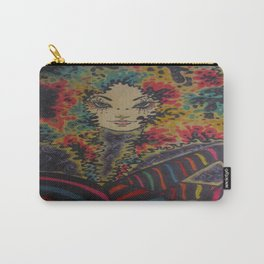 Marla blue eyes Carry-All Pouch