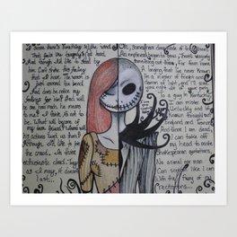 Dualistic Soul Art Print
