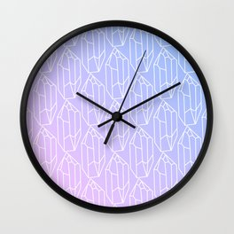 Crystal Pattern Wall Clock