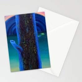Tree at Dawn Stationery Cards