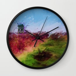 Mill on the Hill Wall Clock