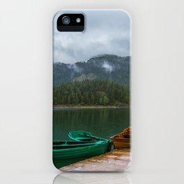 Black Lake iPhone Case