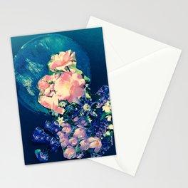 Garden Circle - Navy Stationery Cards
