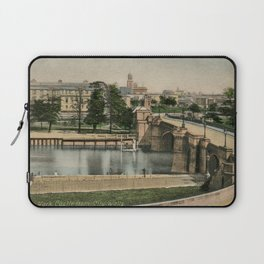 York general view and castle 1900 Laptop Sleeve