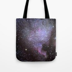 North American Nebulae. The Milky way. North America Nebula Tote Bag