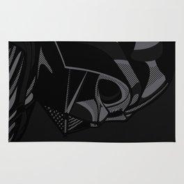 Pop Art Vader black Rug