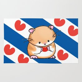friese vlag Rug
