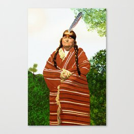 Chickasaw Canvas Print