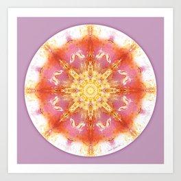 Mandalas for a New Earth 12 Art Print