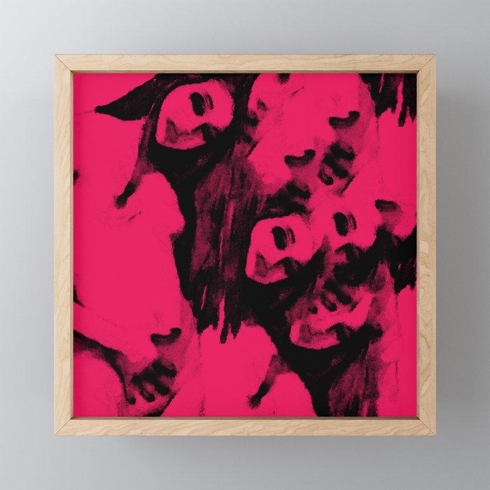 Touching Framed Mini Art Print