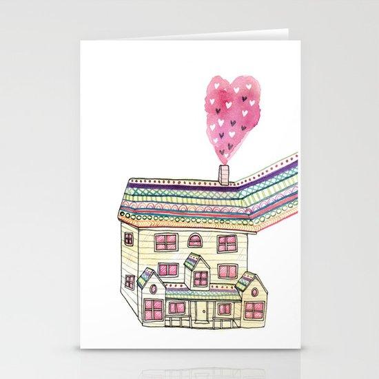 Dream Home Stationery Cards