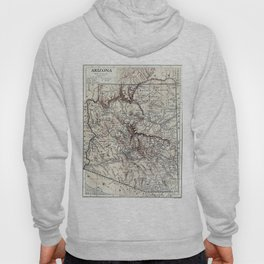 Vintage Map of Arizona (1911)  Hoody