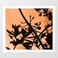 positive Art Prints featuring Positive by AlexinaRose
