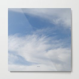 Just Clouds #3 Metal Print