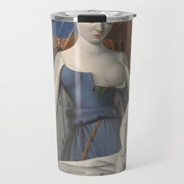 Madonna And Child By Jean Fouquet 1452 Travel Mug