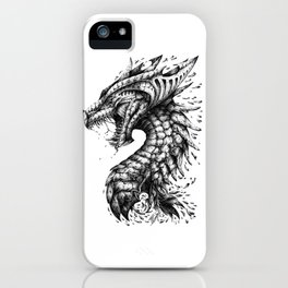 Dragon's Outrage iPhone Case
