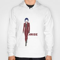 ghost in the shell Hoodies featuring Ghost in the Shell Arise by Krbshadow