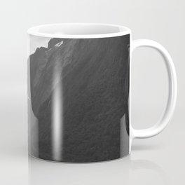 Flight entering Milford Sound New Zealand South Island Coffee Mug
