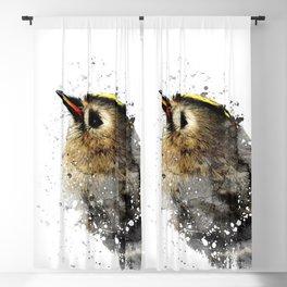 Winter Bird Blackout Curtain
